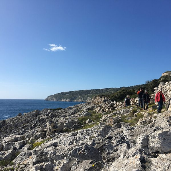 Hiking on the Adriatic coast